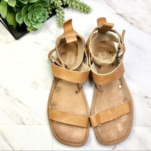 Faryl Robin + Free People • Leather Sandals